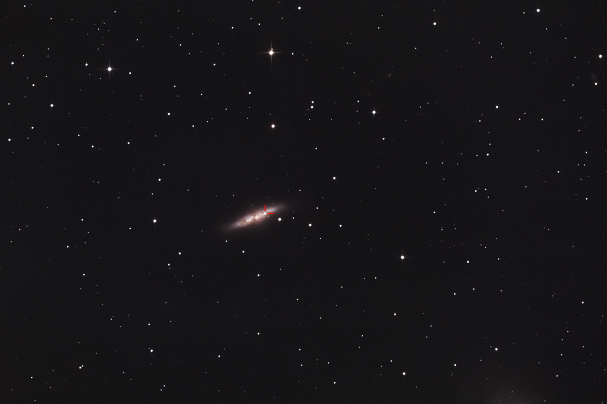 Supernova 2014J in galaxy M82
