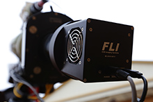Instrument package: FLI ML110002-C camera and Optec Gemini focusing rotator